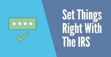 5 Tips To Set Things Right With The IRS