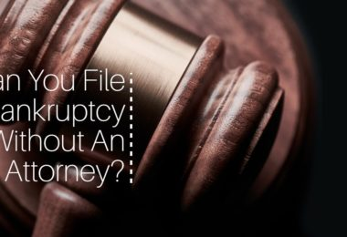 Can You File Bankruptcy Without An Attorney?